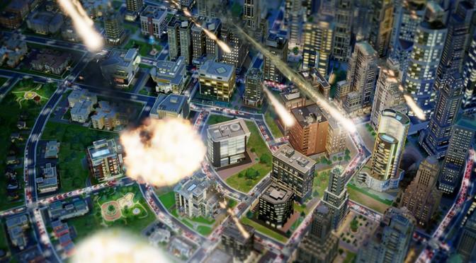 Катастрофы в Sim City