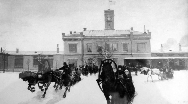 Развозка-Царское-Село-19-век