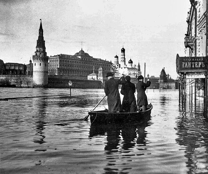 Наводнение-в-Москве-1908