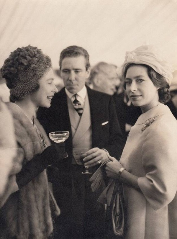 Принцесса_Маргарита_и_Королева_Елизавета-1950-е