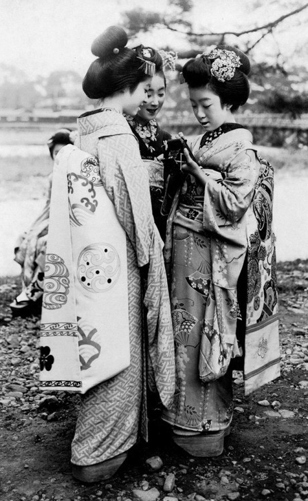 Гейши-Япония-1920-е