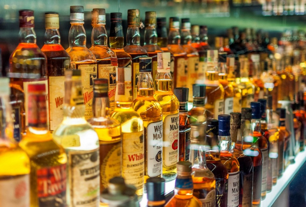 Бутылки-Виски