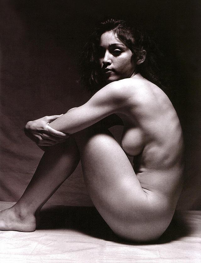 Фото голых знаменитостей - Мадонна