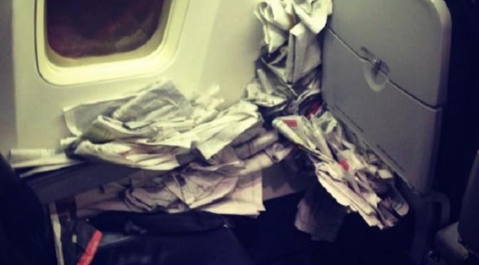 Мерзкие пассажиры самолетов