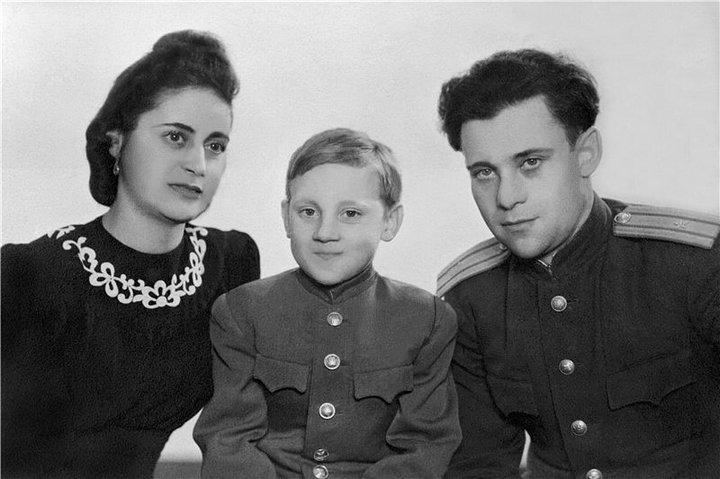 10-летний Высоцкий
