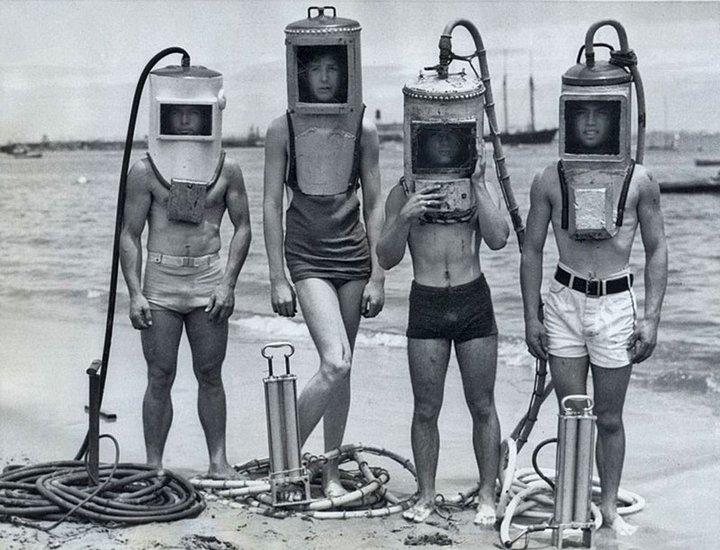 Дайверы 1940-х