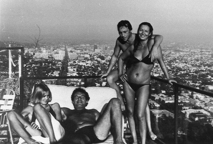 Джессика Лэнг, Милош Форман, Владимир Высоцкий, Марина Влади, 1976