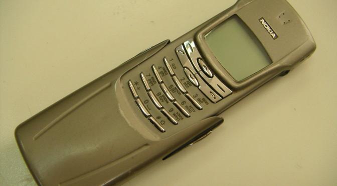 Крутые телефоны прошлого