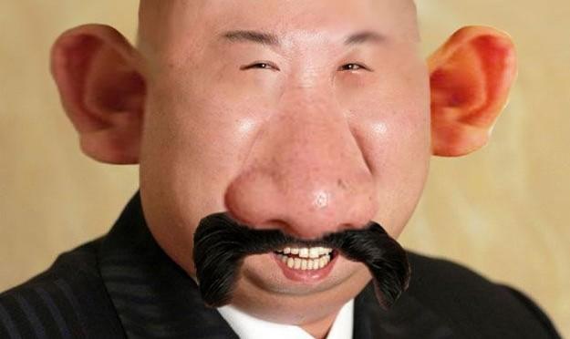 Весёлый Ким Чен Ын