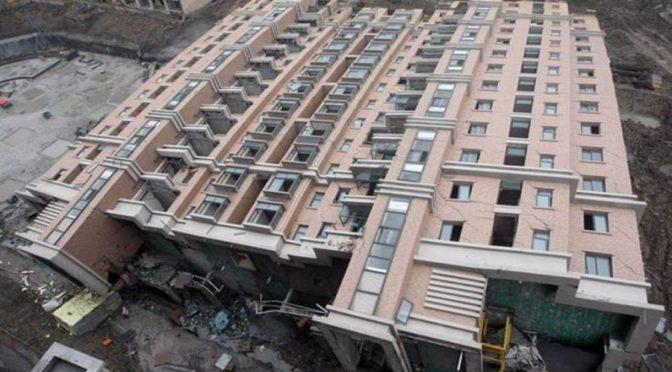 В Китае не только строят…