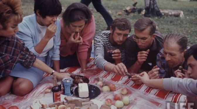 Советская молодёжь на фото
