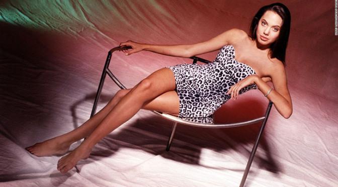 Первая фотосессия Анджелины Джоли